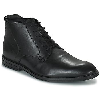 鞋子 男士 短筒靴 Clarks 其乐 CITISTRIDERISE 黑色