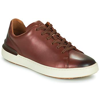 鞋子 男士 德比 Clarks 其乐 COURTLITE LACE 棕色