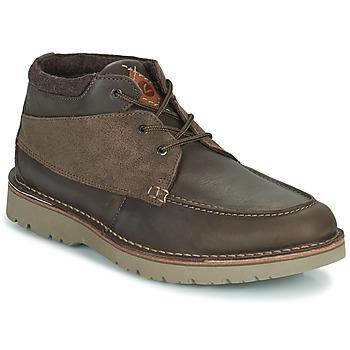 鞋子 男士 短筒靴 Clarks 其乐 EASTFORD TOP 棕色