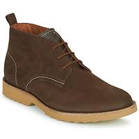 鞋子 男士 短筒靴 Clarks 其乐 FALLHILL MID 棕色