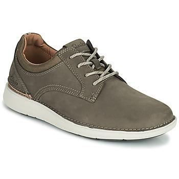 鞋子 男士 德比 Clarks 其乐 LARVIK TIE 棕色