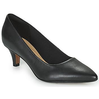 鞋子 女士 高跟鞋 Clarks 其乐 LINVALE JERICA 黑色