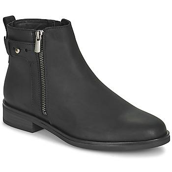 鞋子 女士 短筒靴 Clarks 其乐 MEMI LO 黑色