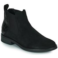 鞋子 女士 短筒靴 Clarks 其乐 MEMI TOP 黑色