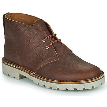 鞋子 男士 短筒靴 Clarks 其乐 OVERDALE MID 驼色