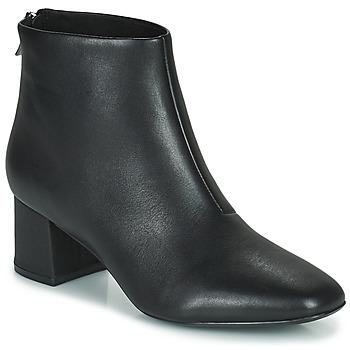 鞋子 女士 短靴 Clarks 其乐 SHEER55 ZIP 黑色