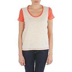 衣服 女士 短袖体恤 Eleven Paris EDMEE 米色 / 橙色