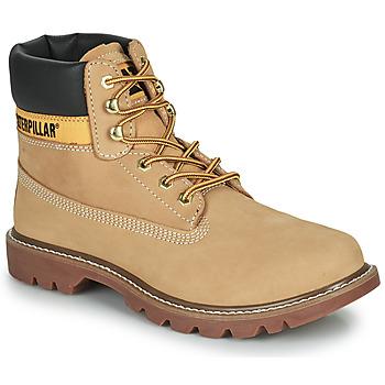鞋子 男士 短筒靴 Caterpillar COLORADO 2.0 米色