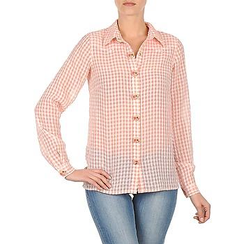 衣服 女士 衬衣/长袖衬衫 Manoush CHEMISE ML ALIZE 玫瑰色