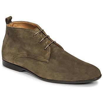 鞋子 男士 短筒靴 Carlington 卡尔顿 EONARD 卡其色