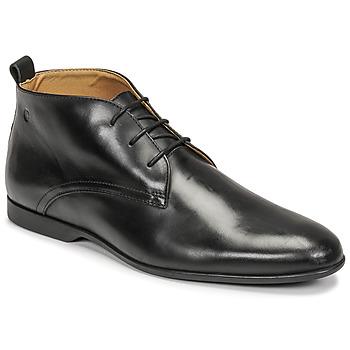 鞋子 男士 短筒靴 Carlington 卡尔顿 EONARD 黑色