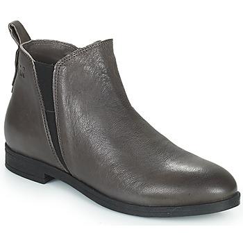 鞋子 女士 短筒靴 Dream in Green LIMIDISI 灰色
