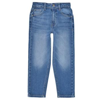 衣服 女孩 直筒牛仔裤 Only KONCALLA 蓝色 / 米色