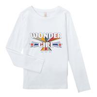 衣服 女孩 长袖T恤 Only KONTINNA 白色