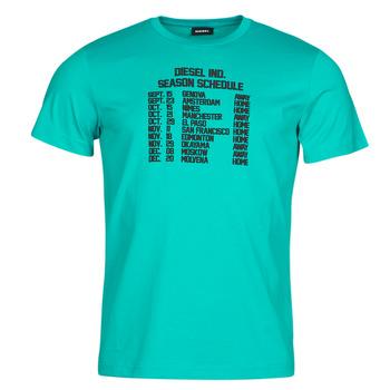 衣服 男士 短袖体恤 Diesel 迪赛尔 T-DIEGOS 蓝色