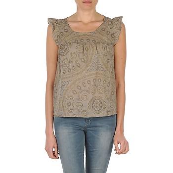 衣服 女士 无领短袖套衫/无袖T恤 Bensimon SADIE 灰褐色