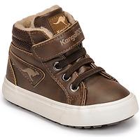鞋子 男孩 高帮鞋 Kangaroos KAVU III 棕色