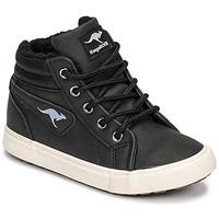 鞋子 男孩 高帮鞋 Kangaroos KAVU I 黑色