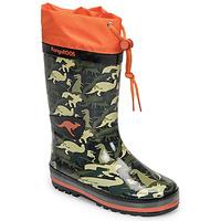 鞋子 男孩 雨靴 Kangaroos K-RAIN 卡其色