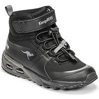 鞋子 男孩 高帮鞋 Kangaroos KX-HYDRO 黑色