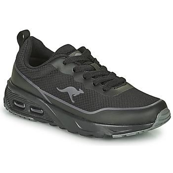 鞋子 男孩 球鞋基本款 Kangaroos KX-3500 黑色