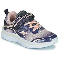鞋子 女孩 球鞋基本款 Kangaroos K-MAID GLEAM EV 蓝色 / 银灰色