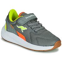 鞋子 男孩 球鞋基本款 Kangaroos K-FORT JAG EV 灰色
