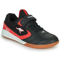 鞋子 儿童 球鞋基本款 Kangaroos K5-COURT EV 黑色 / 红色
