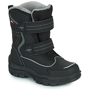 鞋子 儿童 雪地靴 Kangaroos K-LENO V RTX 黑色