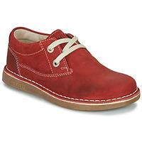 鞋子 儿童 德比 Birkenstock 勃肯 MEMPHIS KIDS 红色