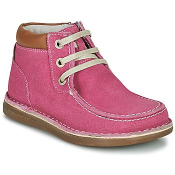 鞋子 女孩 短筒靴 Birkenstock 勃肯 PASADENA HIGH KIDS 玫瑰色