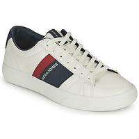 鞋子 男孩 球鞋基本款 Jack & Jones 杰克琼斯 MISTRY 白色