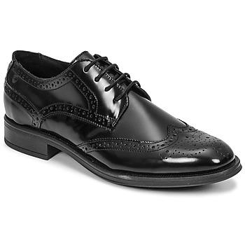 鞋子 男士 德比 Carlington 卡尔顿 LOUVIAN 黑色
