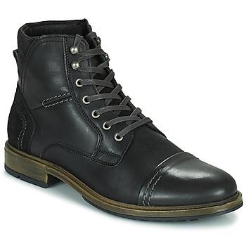 鞋子 男士 短筒靴 Casual Attitude HOKES 黑色