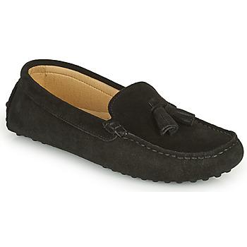 鞋子 女士 皮便鞋 Casual Attitude GATO 黑色
