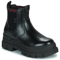 鞋子 女士 短筒靴 Buffalo ASPHA CHELSEA 黑色