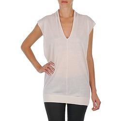 衣服 女士 长衬衫 Joseph V NK TUNIC 白色