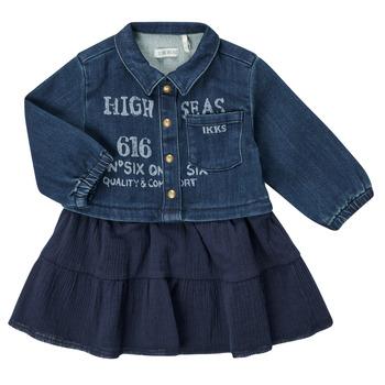衣服 女孩 短裙 Ikks CHATAIN 海蓝色