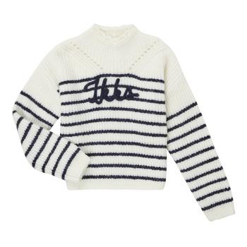 衣服 女孩 羊毛衫 Ikks CITRON 白色