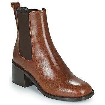 鞋子 女士 短靴 Minelli FREYLA 棕色