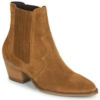 鞋子 女士 短靴 Minelli VELIA 棕色