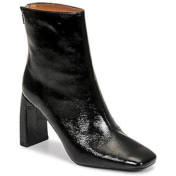 鞋子 女士 短靴 Minelli CREMIA 黑色