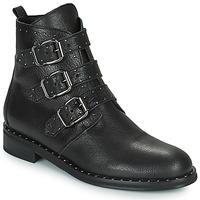 鞋子 女士 短筒靴 Minelli FRANILLA 黑色