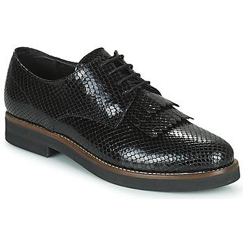 鞋子 女士 德比 Minelli SOLENNA 黑色