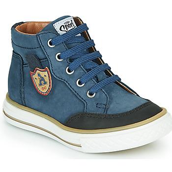 鞋子 男孩 高帮鞋 GBB NATHAN 蓝色