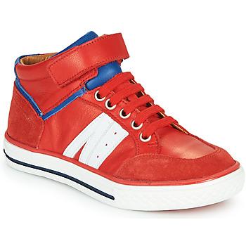 鞋子 男孩 高帮鞋 GBB ALIMO 红色