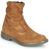 鞋子 女孩 短筒靴 GBB MICKY 棕色