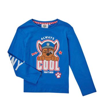 衣服 男孩 长袖T恤 TEAM HEROES KIDS TEE PAW PATROL 蓝色