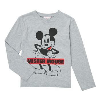 衣服 男孩 长袖T恤 TEAM HEROES KIDS TEE MICKEY 灰色