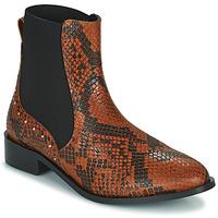 鞋子 女士 短筒靴 JB Martin ANGE 棕色
